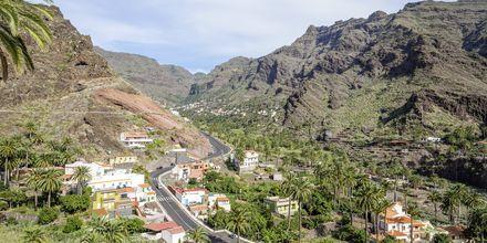 Den lilla byn El Guro på La Gomera.