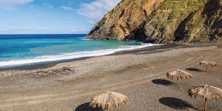 Playa de Vallehermoso på La Gomera, Kanarieöarna.