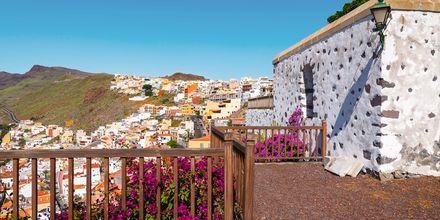Traditionellt hus med härlig utsikt över Playa de Santiago, La Gomera.