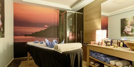 Spa på hotell La Mer på Santorini, Grekland.