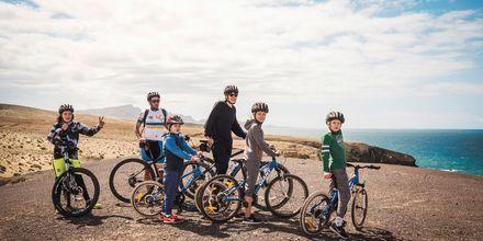 Aktiva familjer trivs bra på La Pared  – powered by Playitas, Fuerteventura.