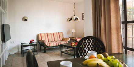 Trerumslägenhet i etage på hotell La Pared – powered by Playitas, Fuerteventura.
