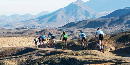 Cykling på La Pared – powered by Playitas, Fuerteventura.
