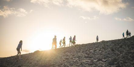 Löpträning på La Pared – powered by Playitas, Fuerteventura.