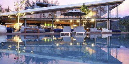 Kokulo Beach Club på hotell La Vela Khao Lak, Thailand.