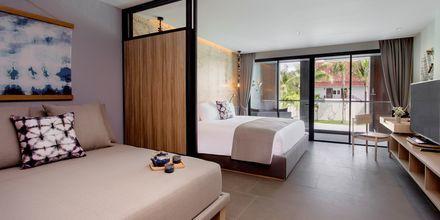 Familjerum på hotell La Vela Khao Lak, Thailand.