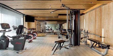 Gym på hotell La Vela Khao Lak, Thailand.