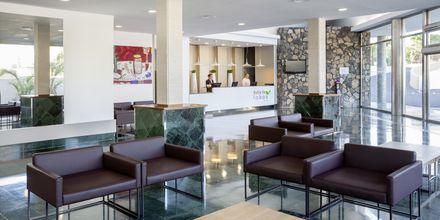 Reception på hotell Bahia de Lobos by LABRANDA i Corralejo, Fuerteventura.