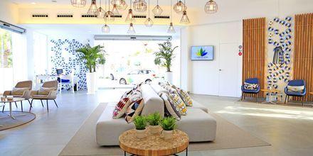 Lobbyn på hotell LABRANDA Corralejo Village på Fuerteventura, Kanarieöarna.