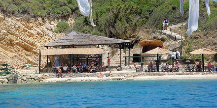 Cameo Island i Laganas på Zakynthos, Grekland.