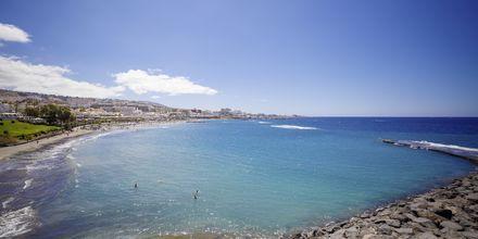 Stranden närmast hotellet.