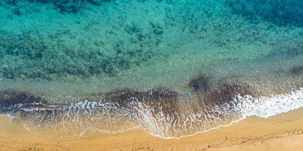 Sköna dagar på stranden i Lambi på Kos.