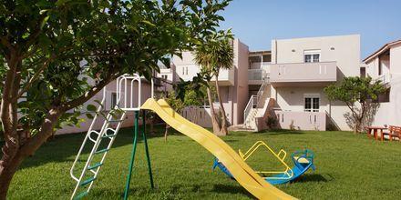 Lekplats på hotell Lamon i Plakias på Kreta, Grekland.