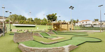 Minigolf på hotell Landmar Playa la Arena på Teneriffa.