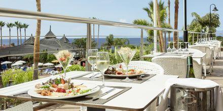 Restaurang på hotell Landmar Playa la Arena på Teneriffa.