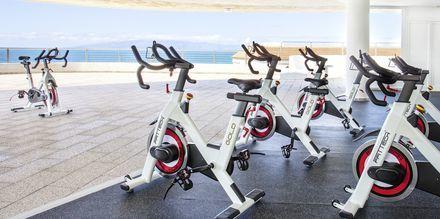 Spinning på hotell Landmar Playa la Arena på Teneriffa.