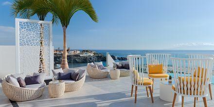 Vackra utsikter över havet på hotell Landmar Playa de la Arena på Teneriffa, Kanarieöarna.