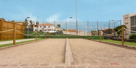 Träning på hotell Landmar Playa de la Arena på Teneriffa, Kanarieöarna.