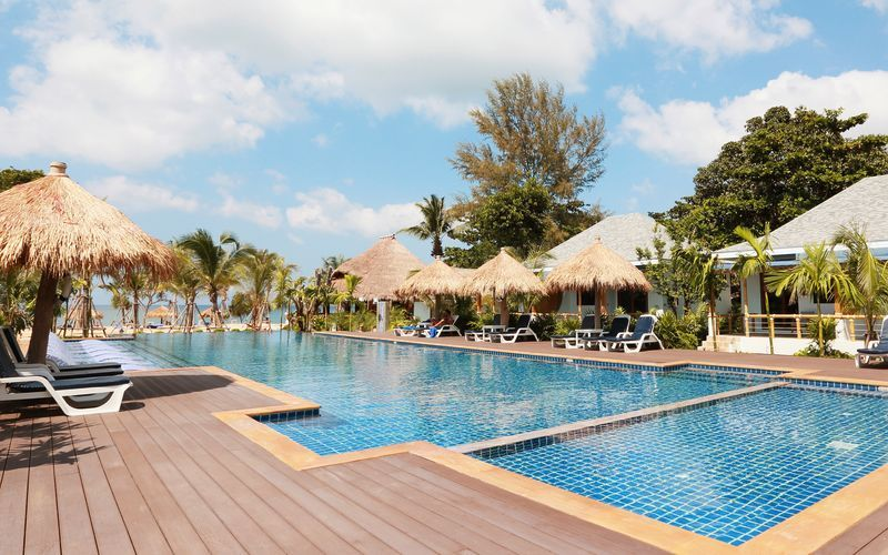 Hotell Lanta Casa Blanca på Koh Lanta i Thailand.