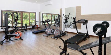 Gym på hotell Lanta Casa Blanca på Koh Lanta i Thailand.