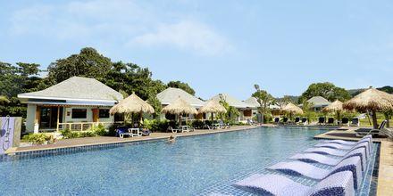 Poolområdet på hotell Lanta Casa Blanca på Koh Lanta i Thailand.
