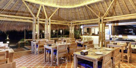 Restaurang på hotell Lanta Casa Blanca på Koh Lanta i Thailand.