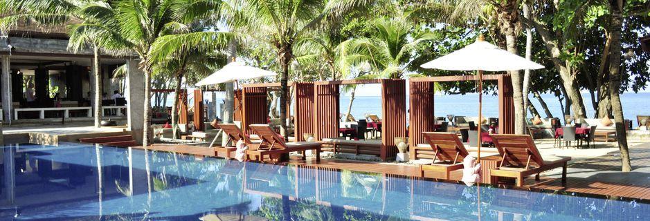 Pool på Lanta Sand Resort & Spa på Koh Lanta, Thailand.