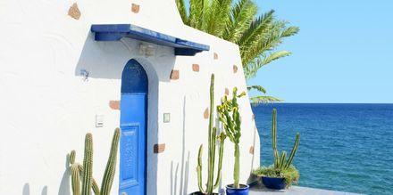 Vackra Lanzarote med sin traditionella arkitektur.