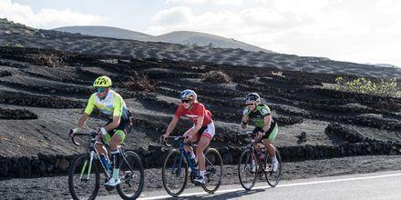 Cykling på Lanzarote, Kanarieöarna.