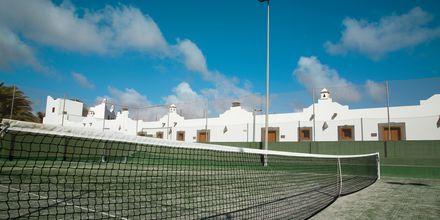 Tennis på Las Marismas på Fuerteventura, Kanarieöarna.