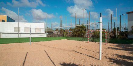 Volleyboll på Las Marismas på Fuerteventura, Kanarieöarna.