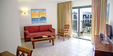 Trerumslägenhet på hotell Las Marismas på Fuerteventura, Kanarieöarna.
