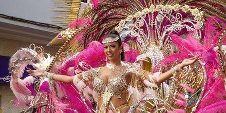 Karnevalen på Gran Canaria.