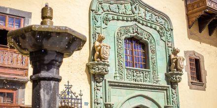 Casa de Colón, palatset där det sägs att Kristoffer Columbus bott år 1492.