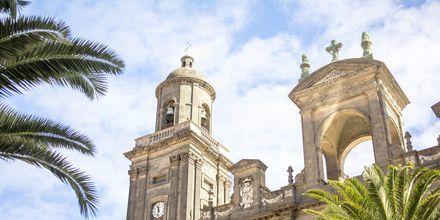Gamla stadsdelen i Las Palmas.