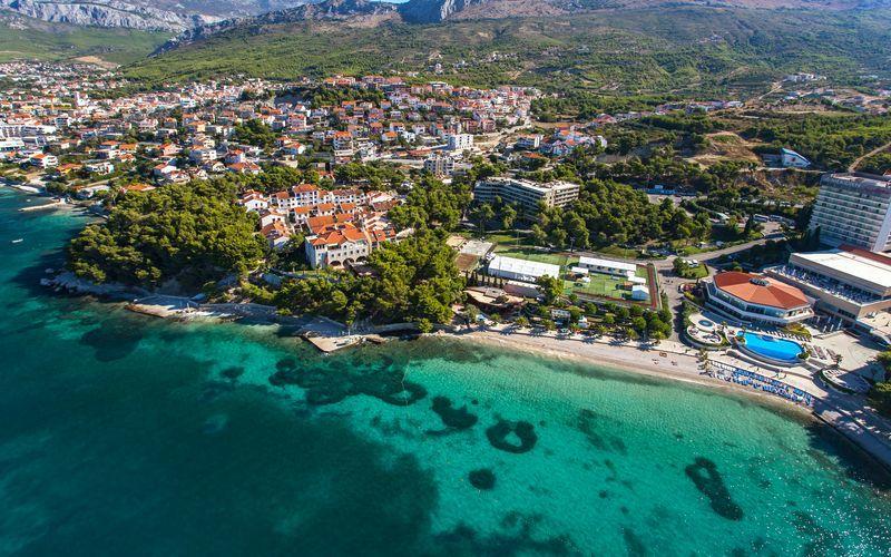 Hotell Lavica Apartments i Split, Kroatien.