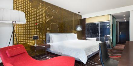 Deluxerum på hotell Le Meridien Saigon i Vietnam.