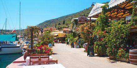 Sivota på Lefkas, Grekland.
