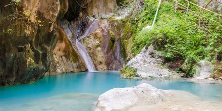 Vattenfallen i Dimossari, Nidri.