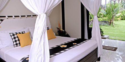 Superiorrum på hotell Legian Beach i Kuta på Bali.