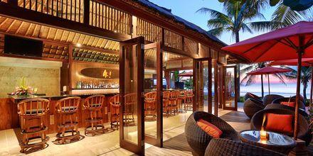 Restaurang Ole Ocean View Patio på hotell Legian Beach i Kuta på Bali.
