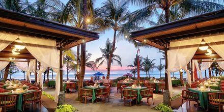 Lais Restaurant på hotell Legian Beach i Kuta på Bali.