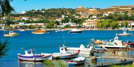 På Leros finns flera pittoreska små hamnar.
