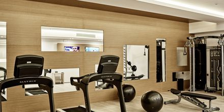 Gym på Lesante Blu Exclusive Beach Resort, Zakynthos.