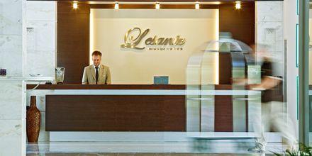 Receptionen på Lesante Classic Luxury Hotel & Spa, Zakynthos, Grekland.