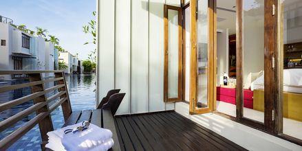 Större dubbelrum med poolaccess på Let's Sea Hua Hin Al Fresco Resort i Thailand.