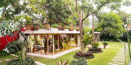 Gym på Let's Sea Hua Hin Al Fresco Resort i Thailand.