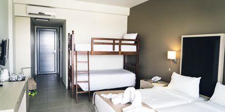 Dubbelrum i sidobyggnad på Levante Beach Resort i Afandou, Rhodos.