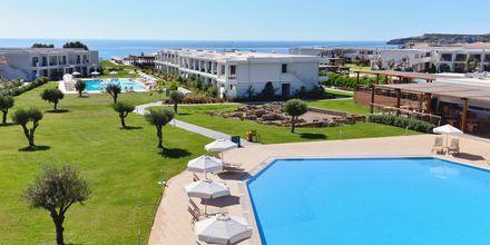 Poolområde på Levante Beach Resort på Rhodos, Grekland.
