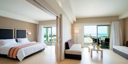 Familjerum på hotell Levante Beach Resort på Rhodos, Grekland.